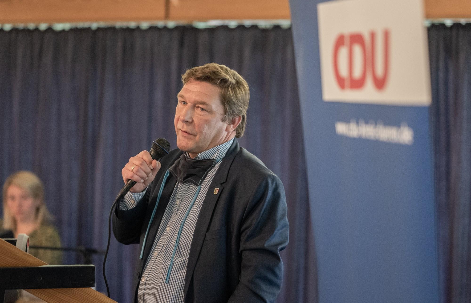 CDU Jülich unterstützt Bürgermeister Axel Fuchs