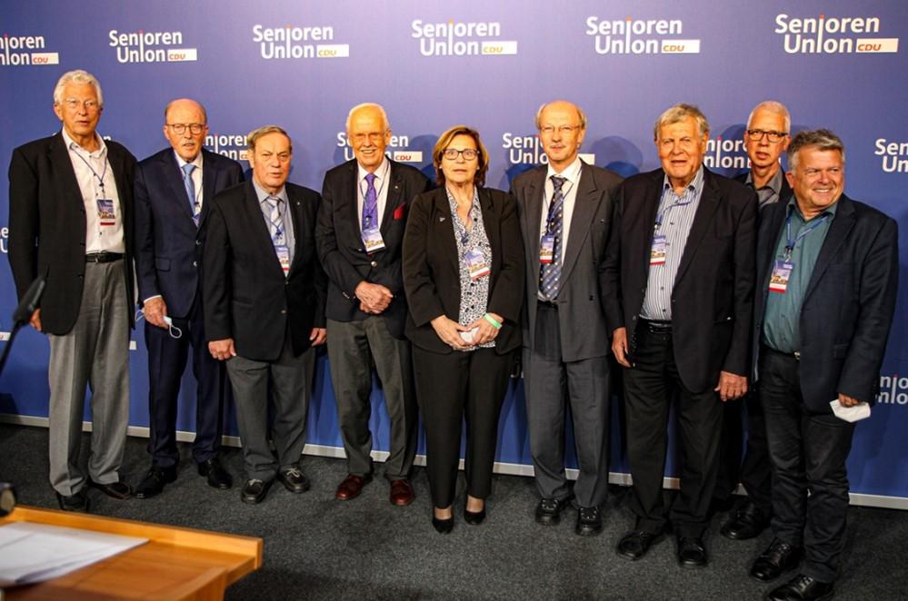 Wolfgang Gunia weiter im Bundesvorstand der Senioren Union